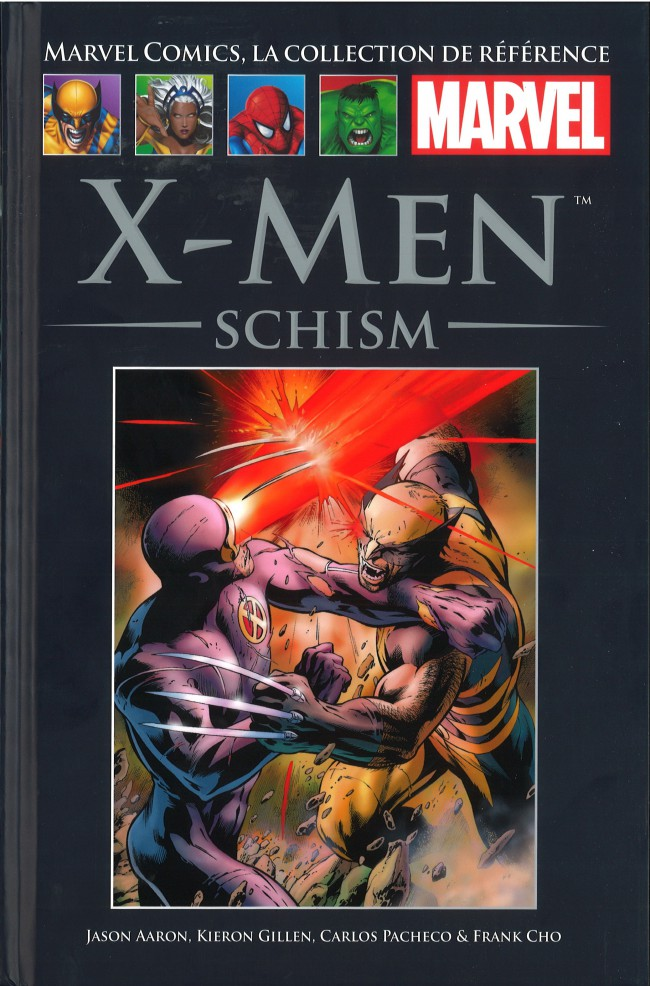 Marvel Comics, la collection de référence T76 : X-Men - Schism (0), comics chez Hachette de Gillen, Aaron, Acuña, Pacheco, Davis, Tan, Seeley, Kubert, Cho, d' Armata, Mossa, Staples, Keith, SotoColor