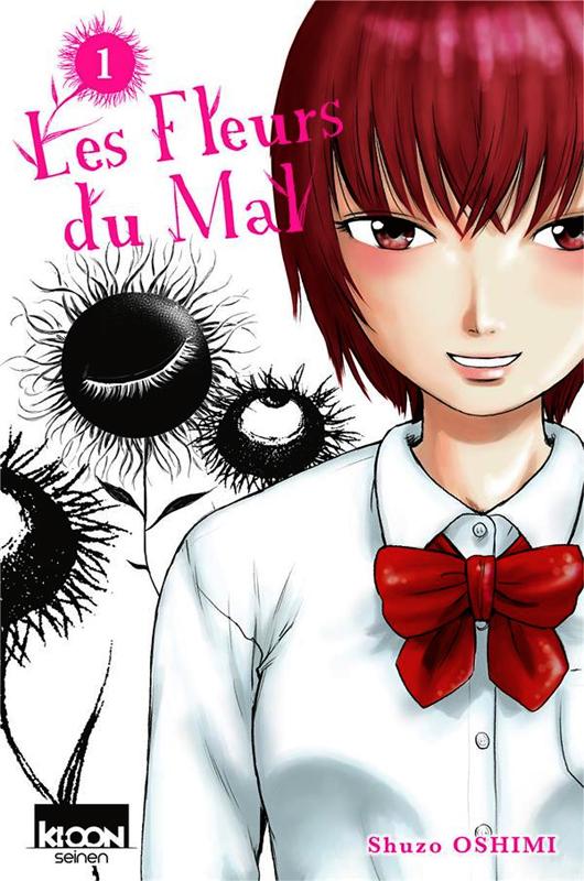 Les fleurs du mal  T1, manga chez Ki-oon de Oshimi