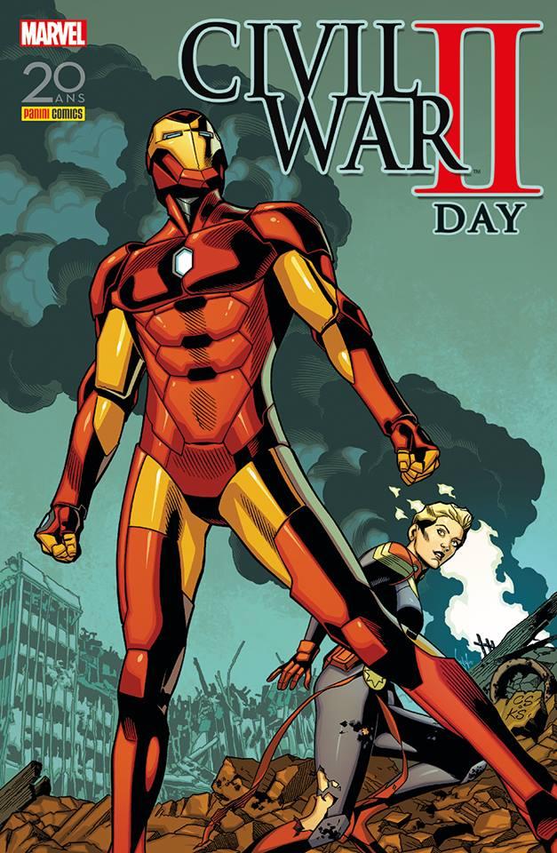 Civil War II : Day (0), comics chez Panini Comics de Easton, Davidson, Crossley