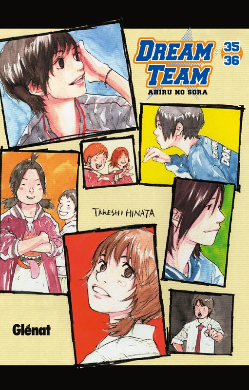 Dream team T35 : Volume 35-36 (0), manga chez Glénat de Hinata