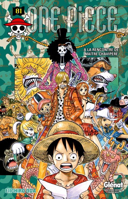 One Piece T81 : A la rencontre de Maître Chavipère (0), manga chez Glénat de Oda