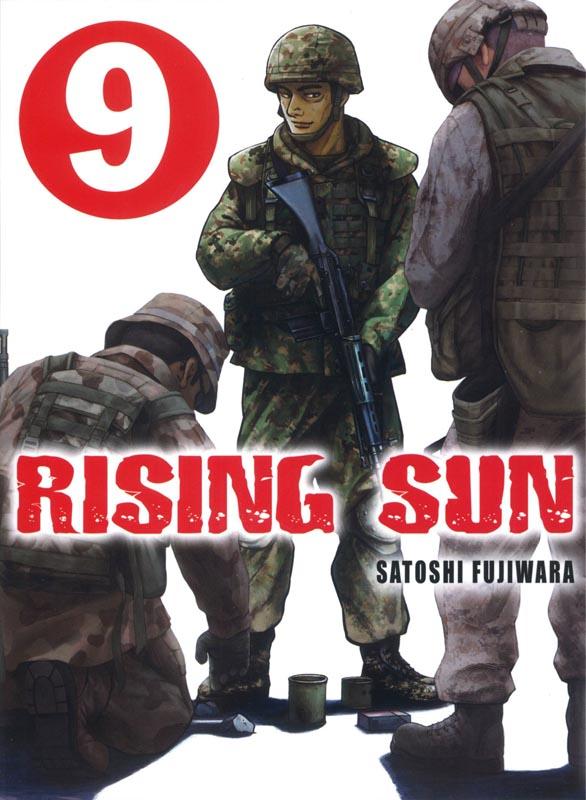 Rising sun T9, manga chez Komikku éditions de Fujiwara