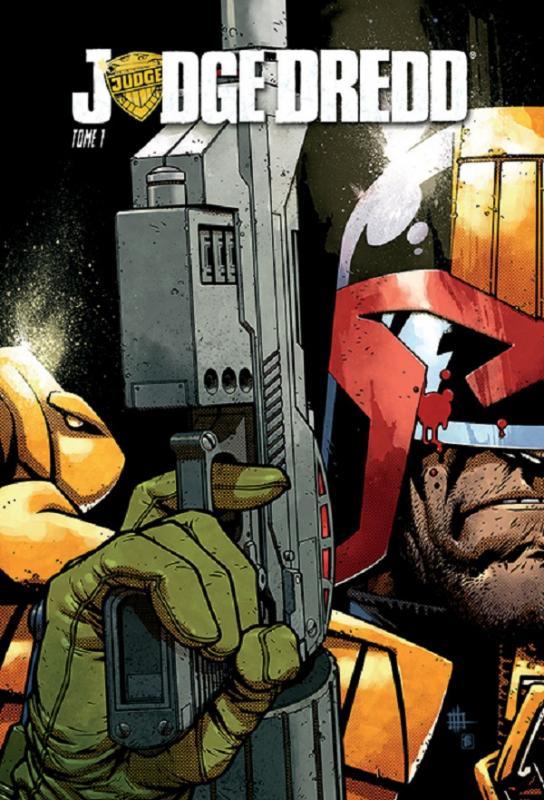Judge Dredd T1, comics chez Réflexions de Swierczynski, Daniel, Miranda, McCarthy, Foss, Gulacy, O'Grady, de La cruz, Howard