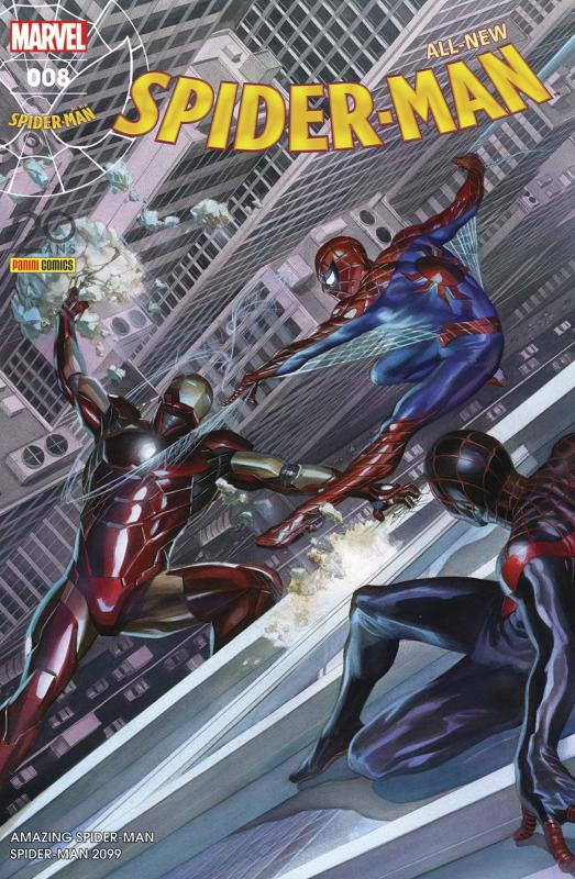 All-New Spider-Man T8 : Prêt à tout (0), comics chez Panini Comics de Slott, Gage, David, Camuncoli, Sliney, Rosenberg, Gracia, Ross