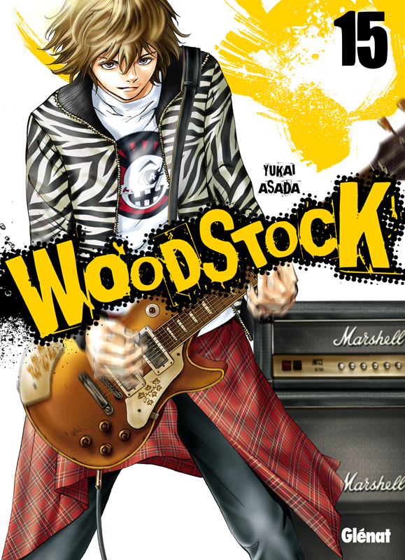 Woodstock T15, manga chez Glénat de Asada
