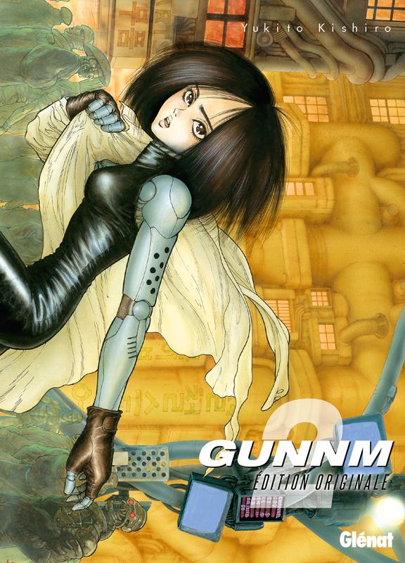 Gunnm Edition originale  T2, manga chez Glénat de Kishiro