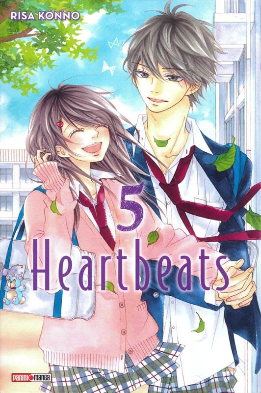 Heartbeats  T5, manga chez Panini Comics de Konno