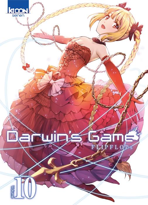 Darwin's game T10 : , manga chez Ki-oon de FLIPFLOPs