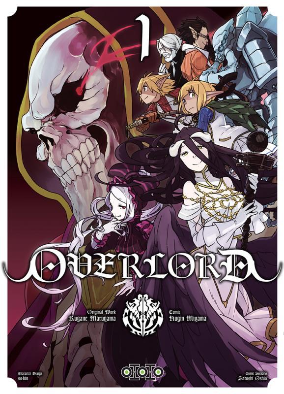 Overlord T1, manga chez Ototo de Maruyama, Miyama