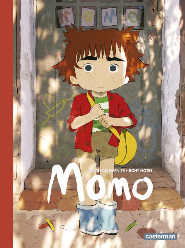 Momo T1, bd chez Casterman de Garnier, Hotin