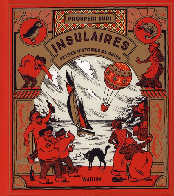 Insulaires : Petites histoires de Groix (0), bd chez Warum de Buri