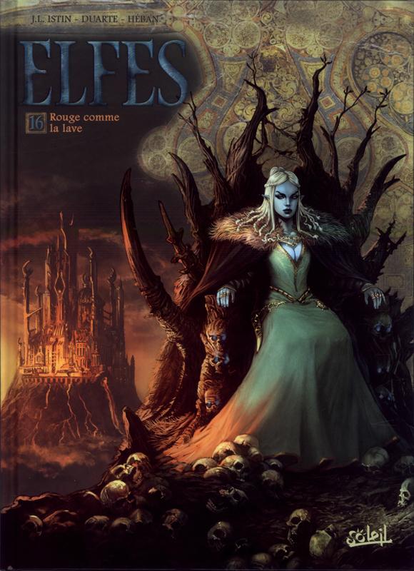 Elfes – Saison 4, T16 : Rouge comme la lave (0), bd chez Soleil de Istin, Duarte, Héban