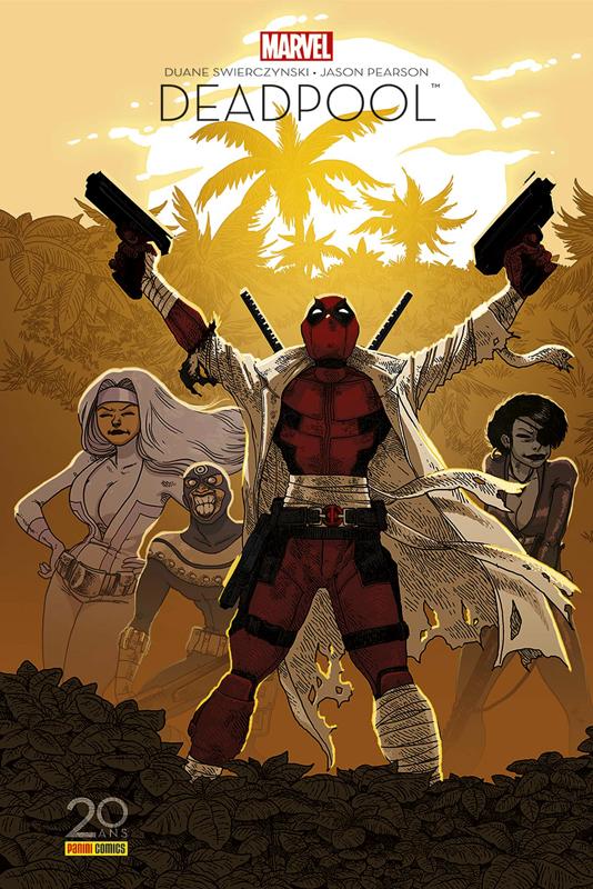 Deadpool : Il faut soigner le soldat Wilson - Edition 20 ans (0), comics chez Panini Comics de Swierczynski, Pearson, Mounts, Dallain, Boulet