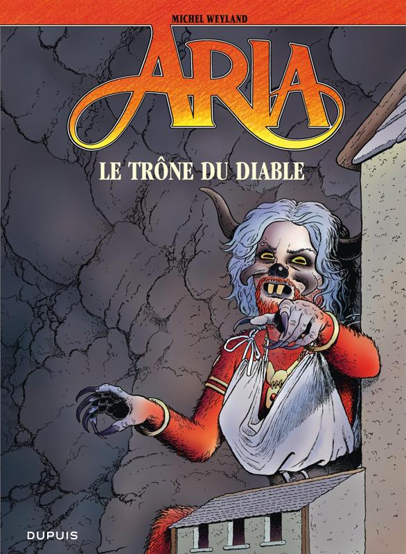 Aria T38 : Le trône du diable (0), bd chez Dupuis de Weyland, Weyland