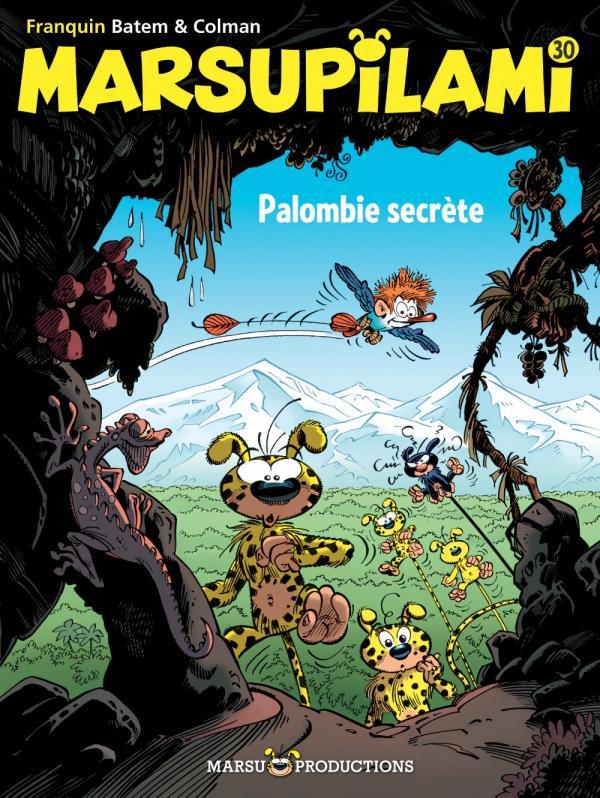 Marsupilami T30 : Palombie secrète (0), bd chez Marsu Productions de Batem, Colman, Cerise