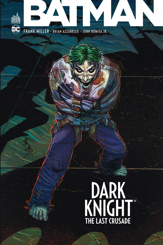Batman - Dark Knight The Last Crusade, comics chez Urban Comics de Azzarello, Miller, Romita Jr, Steigerwald