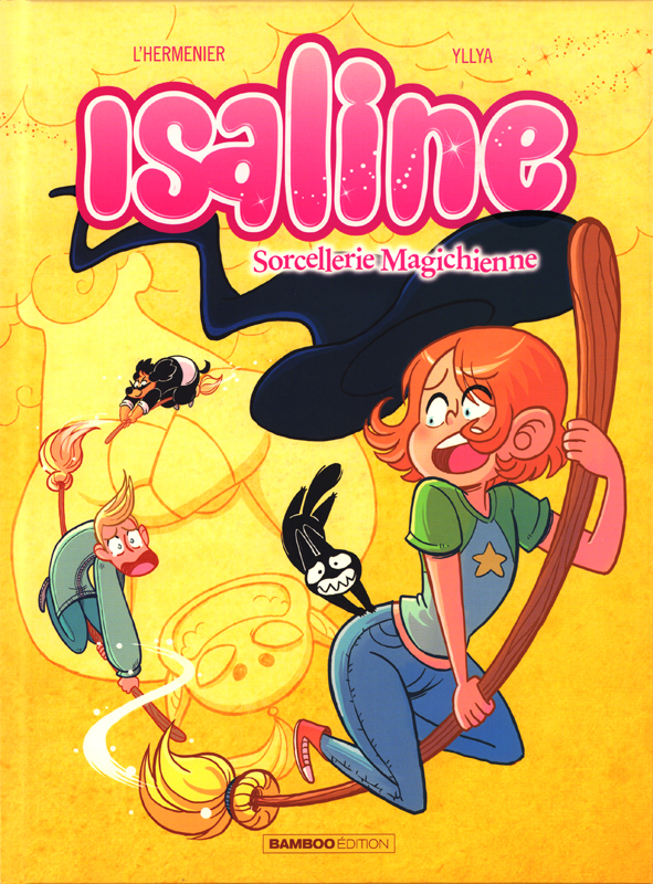 Isaline (version BD) T3 : L'apprenti Magichienne (0), bd chez Bamboo de L'Hermenier, Yllia, Poli Rivière