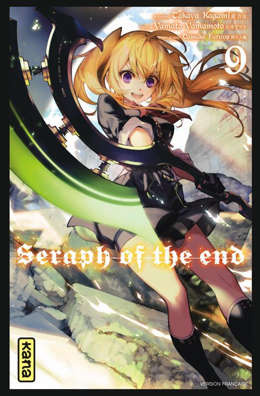 Seraph of the end  T9, manga chez Kana de Kagami, Yamamoto