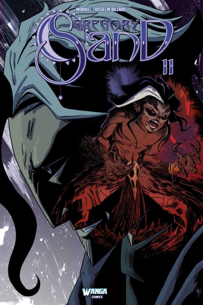 Gregory Sand T2 : L'avatar de la mort, comics chez Wanga Comics de Mobias, Billard