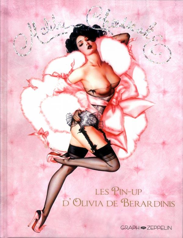 Malibu Cheesecake : Les pin-up d'Olivia de Berardinis (0), bd chez Graph Zeppelin de de Berardinis