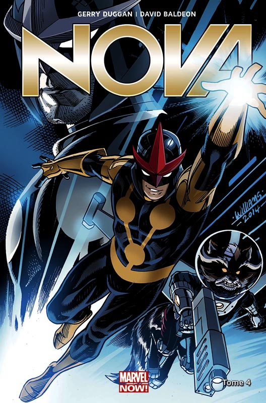 Nova (vol.5) T4 : La vérité sur les Black Nova (0), comics chez Panini Comics de Duggan, Baldeon, Santagati, Medina, Timms, SotoColor, Curiel