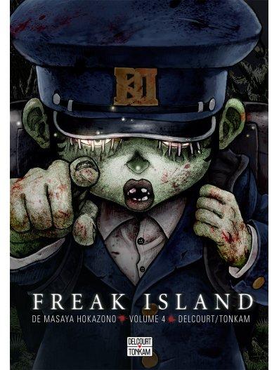 Freak island  T4, manga chez Delcourt de Hokazono