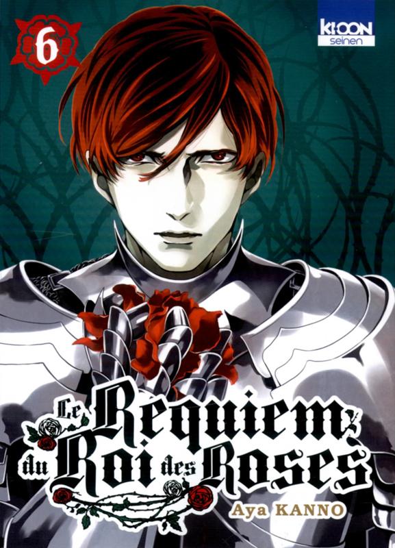 Le Requiem du roi des roses  T6, manga chez Ki-oon de Kanno