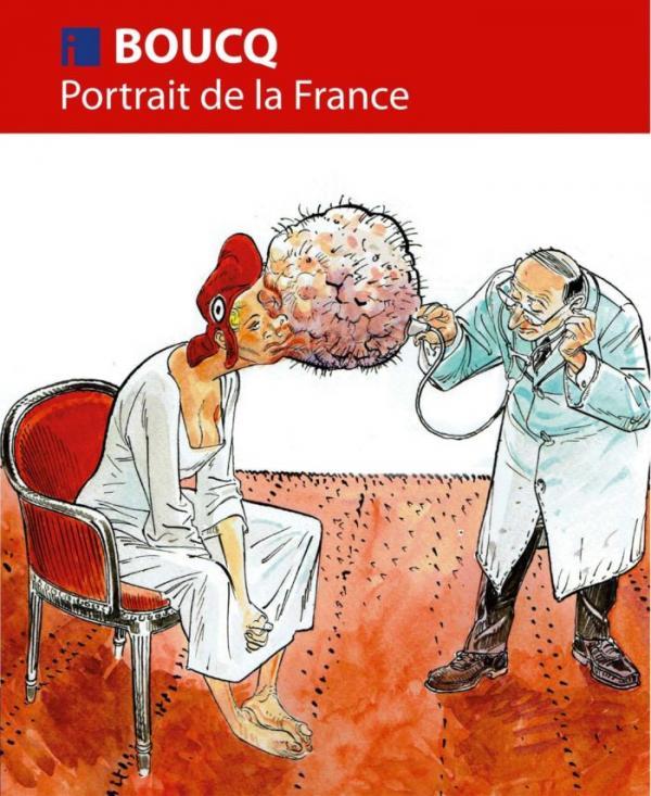 Portrait de la France, bd chez Editions i de Boucq