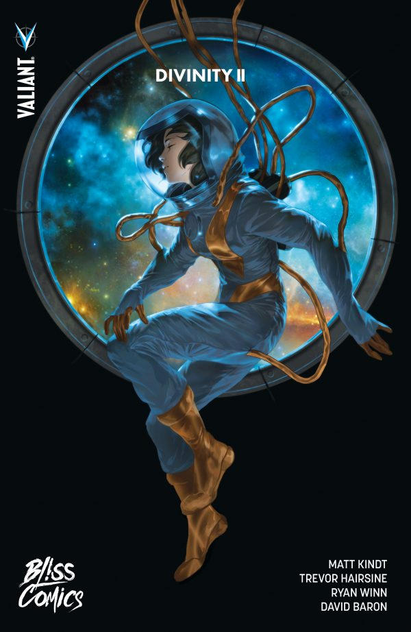 Divinity T2, comics chez Bliss Comics de Kindt, Hairsine, Baron, Djurdjevic