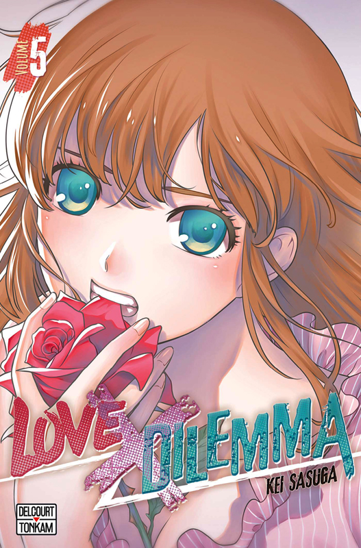 Love x dilemma T5 : , manga chez Delcourt de Sasuga