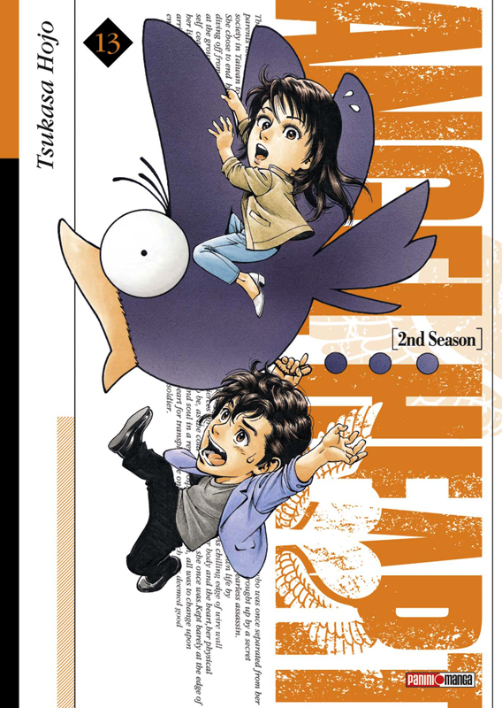 Angel heart – 2nd Season, T13, manga chez Panini Comics de Hôjô
