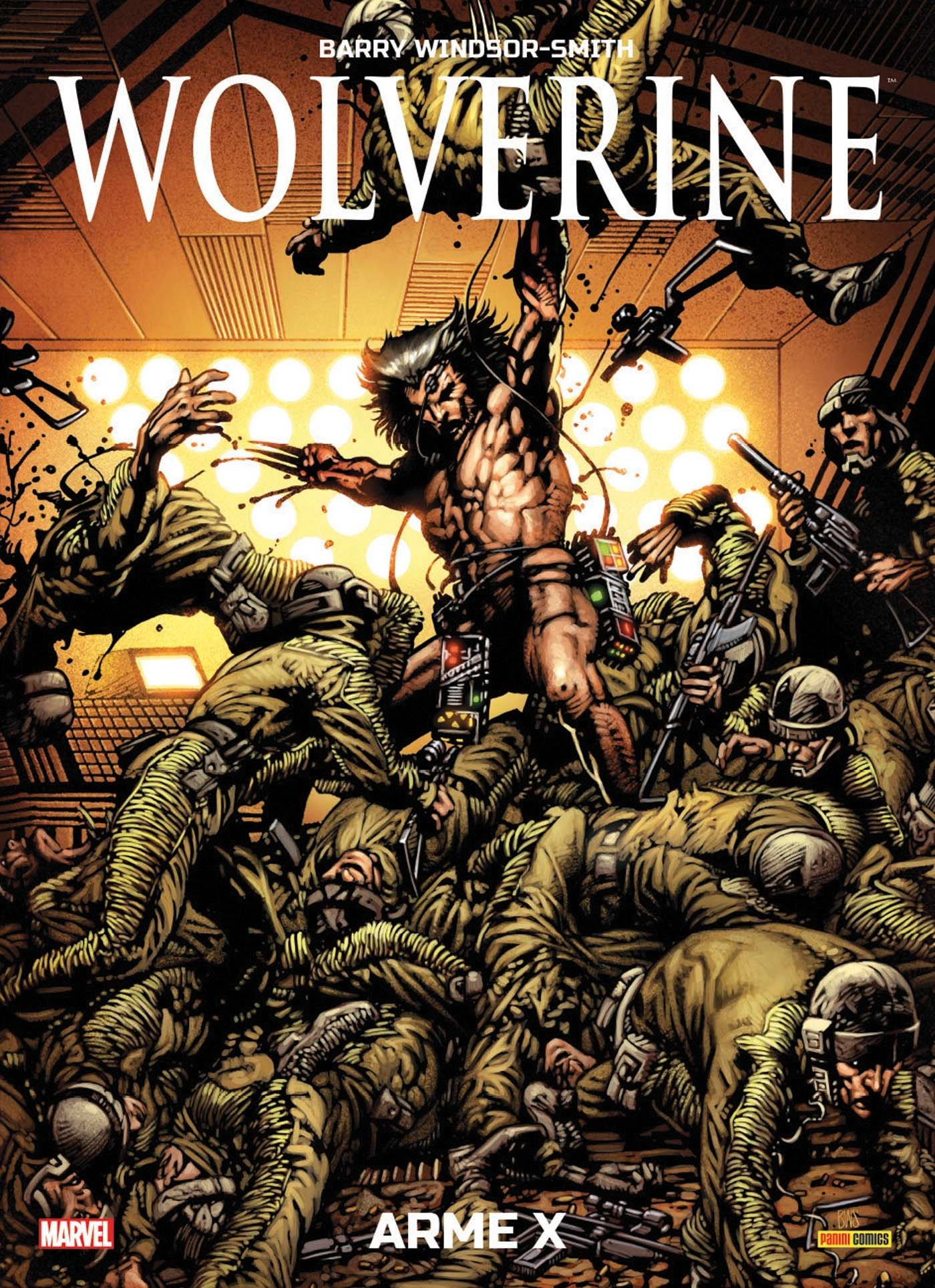 Wolverine - Arme X, comics chez Panini Comics de Windsor-Smith