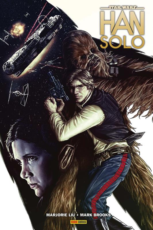 Han Solo : La course du Vide du Dragon, comics chez Panini Comics de Liu, Brooks, Milla, Oback, Bermejo