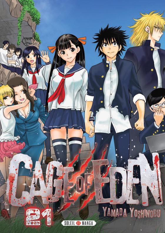 Cage of eden T21 : , manga chez Soleil de Yamada