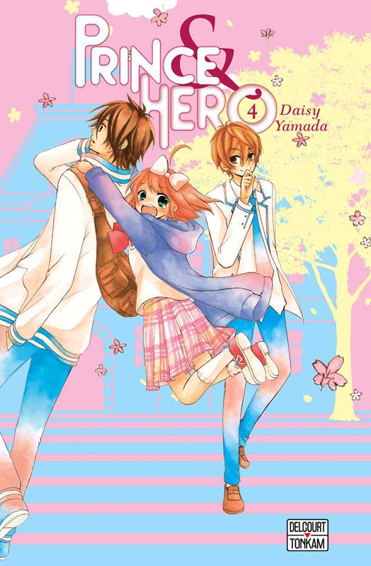 Prince & hero T4, manga chez Tonkam de Yamada