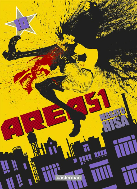 Area 51 T10, manga chez Casterman de Hisa