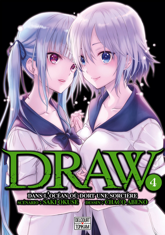 Draw T4 : , manga chez Delcourt de Okuse, Abeno