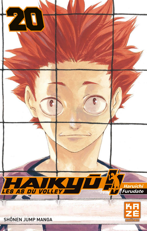 Haikyû, les as du volley T20, manga chez Kazé manga de Furudate