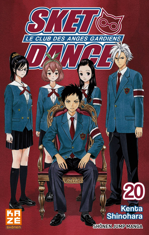 SKET dance - le club des anges gardiens T20, manga chez Kazé manga de Shinohara