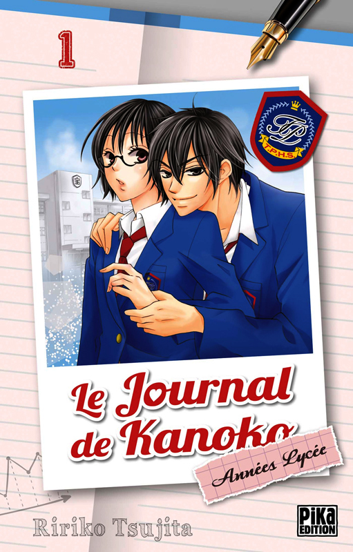 Le journal de Kanoko - Années lycée T1, manga chez Pika de Tsujita