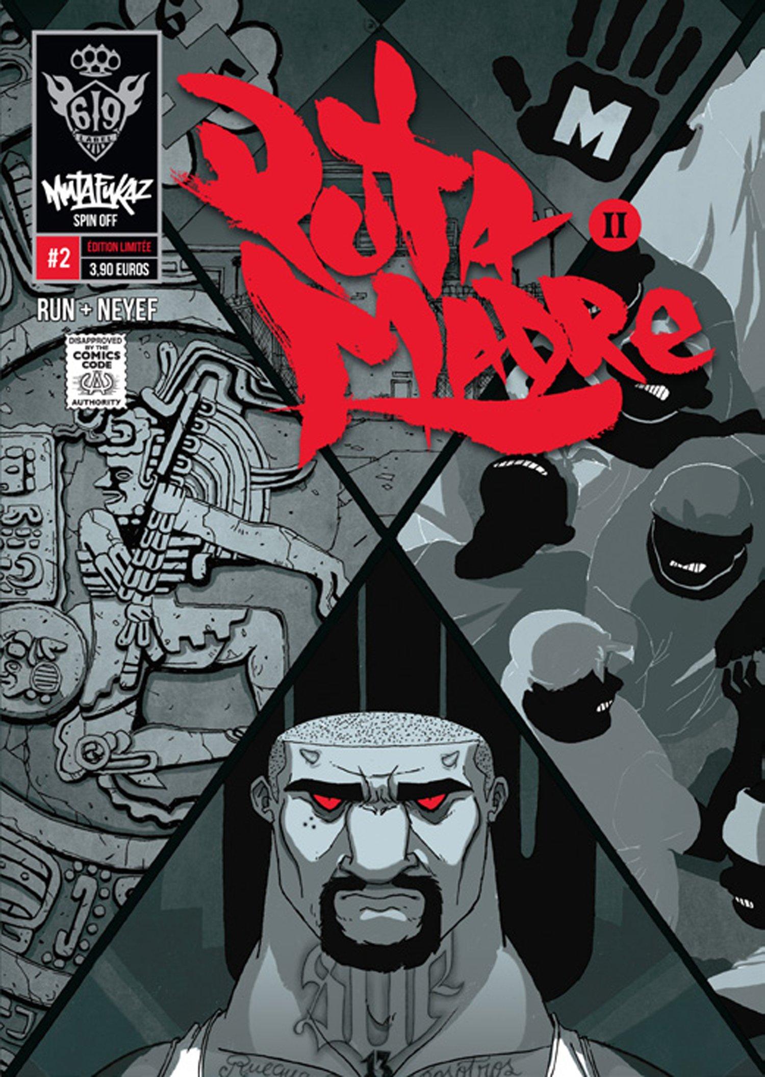 Mutafukaz' Puta Madre T2, comics chez Ankama de Run, Neyef