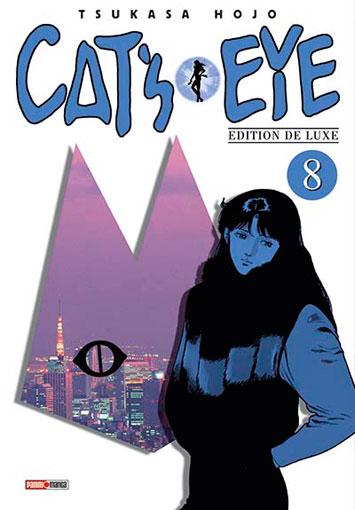 Cat's Eye - Edition Deluxe – Deuxième édition, T8, manga chez Panini Comics de Hôjô