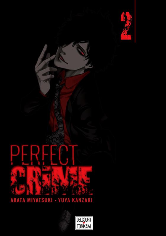 Perfect crime T2, manga chez Delcourt Tonkam de Miyatsuki, Kanzaki