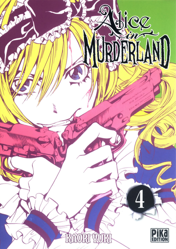 Alice in murderland T4, manga chez Pika de Yuki