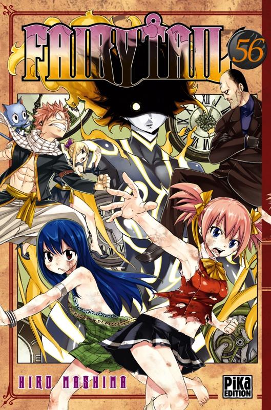 Fairy Tail T56, manga chez Pika de Mashima
