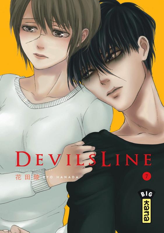 Devils line T7, manga chez Kana de Hanada