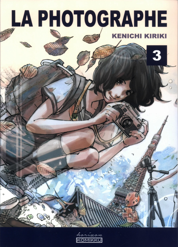 La photographe  T3, manga chez Komikku éditions de Kiriki
