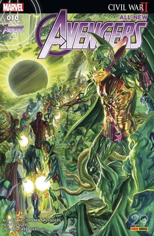 All-New Avengers (revue) T10 : La quête de Nova (0), comics chez Panini Comics de Duggan, Waid, Ewing, Medina, Larraz, Davis, Asrar, Hollingsworth, McCaig, Aburtov, Curiel, Ross