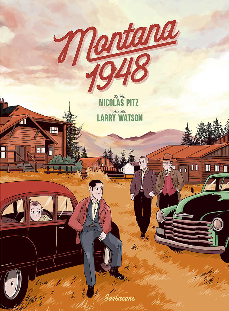 Montana 1948, bd chez Sarbacane de Pitz