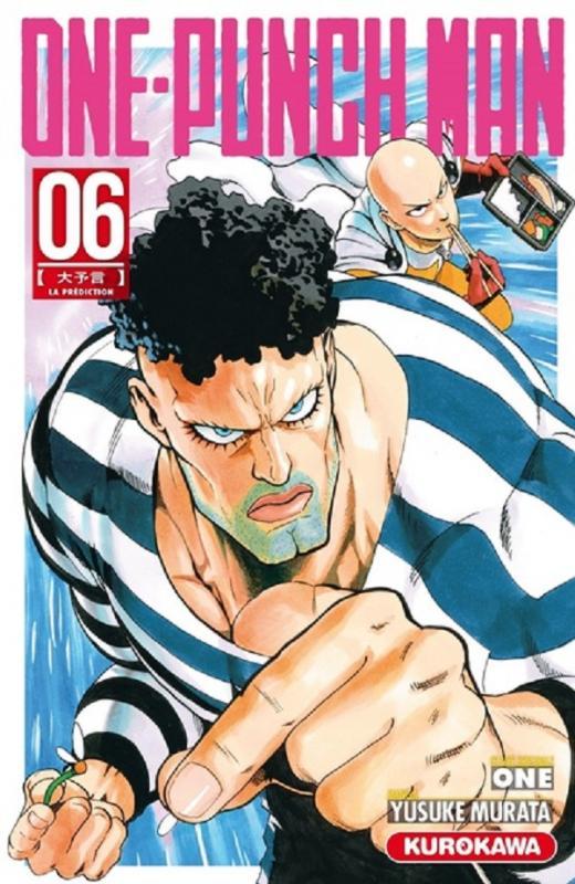 One-Punch Man T6 : La prédiction (0), manga chez Kurokawa de One, Murata